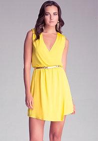 Платье zolla желтое