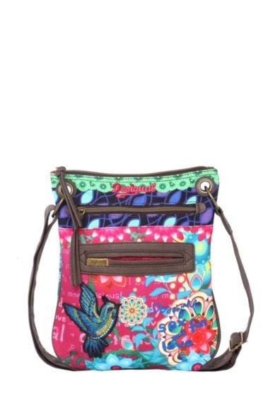 b56bba45037b яркие молодежные сумки марки Desigual. Desigual женские сумки каталог с  фото 2016 2017