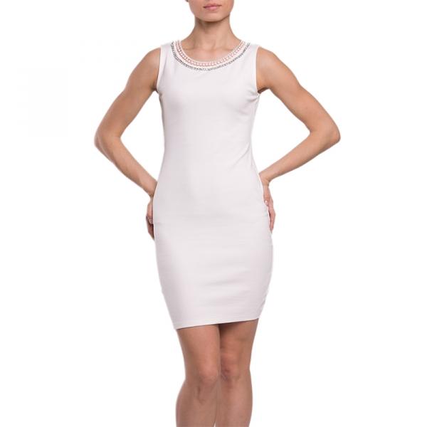 Белое платье из инсити