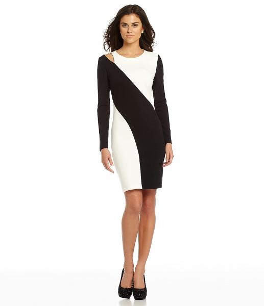 черно белые платья 2016 фото