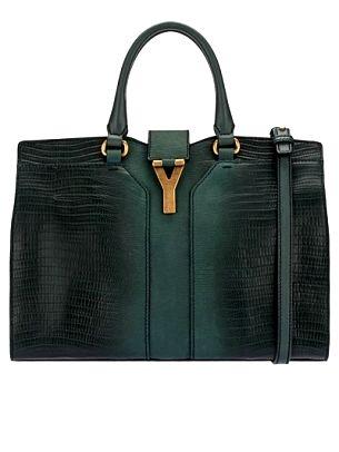 Женские сумки Yves Saint Laurent осень-зима 2012