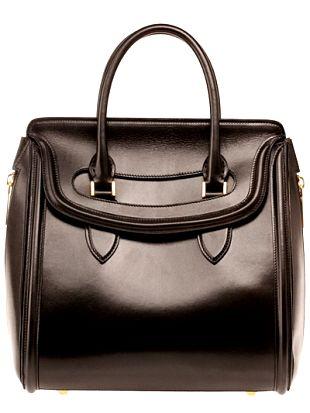 Женские сумки Alexander McQueen осень 2012