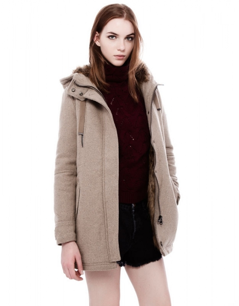 Pull and bear пальто