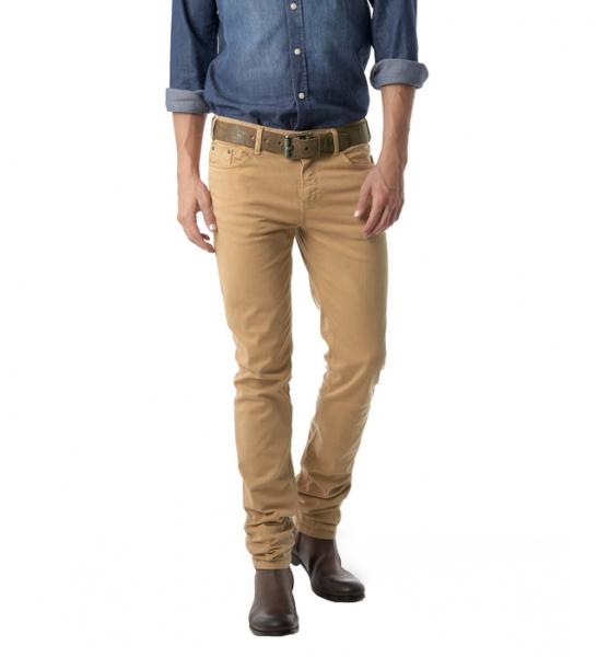 Коричневые джинсы мужские