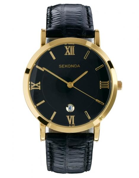 Sekonda часы с хронографом sekonda - золотой часы sekonda, иногда ничего лучше классики не найти, корпус и браслет золотистого цвета, механизм с тремя стрелками, модель с хронографом, разметка штрихами, заводная головка сбоку, раскрывающаяся застежка.
