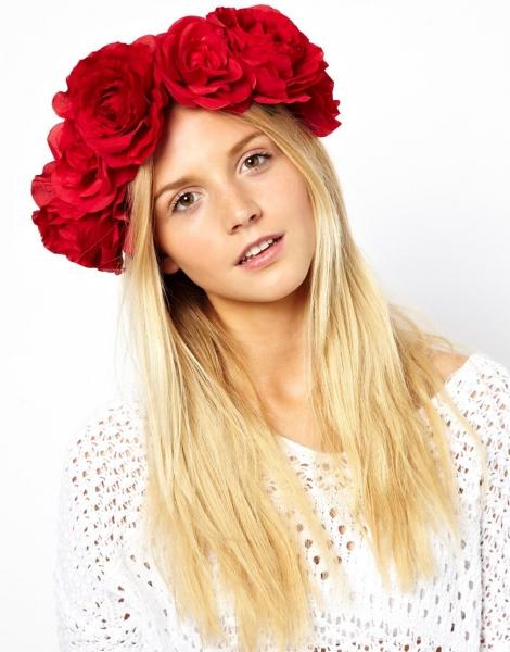 Как сделать венок из роз на голову своими руками