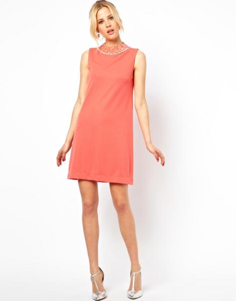 Платье прямое без рукавов своими руками 15