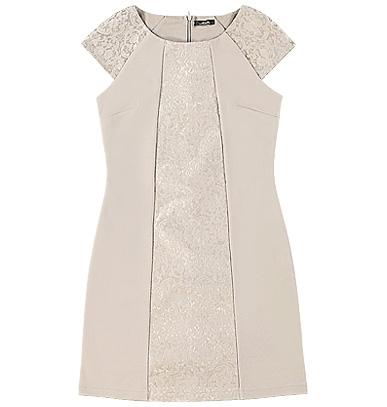 Женское платье modis светлое с узорами