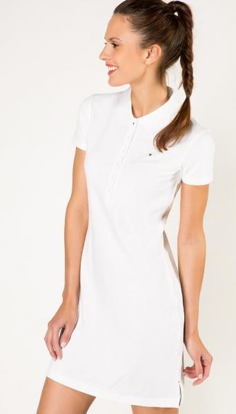 платье TOMMY HILFIGER белого цвета a2e235f27b31d