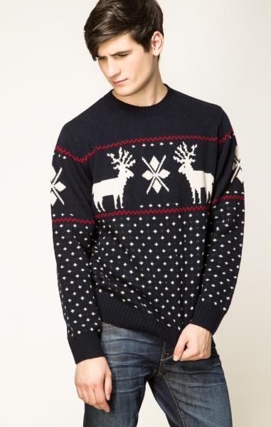 Пуловер С Оленями Купить Доставка