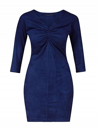 Женские платья ярко синего цвета