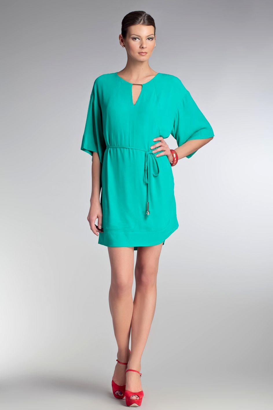 Модные платья для полных из трикотажа