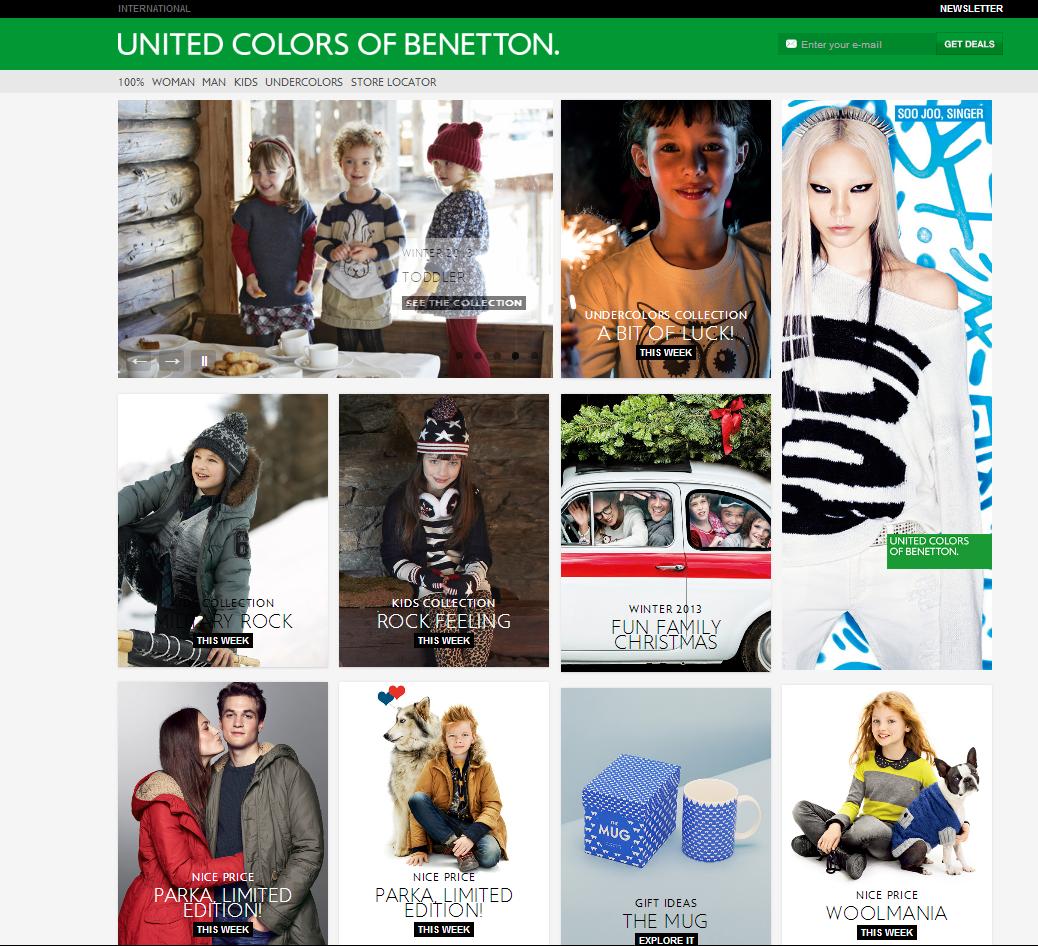Бенеттон одежда официальный сайт