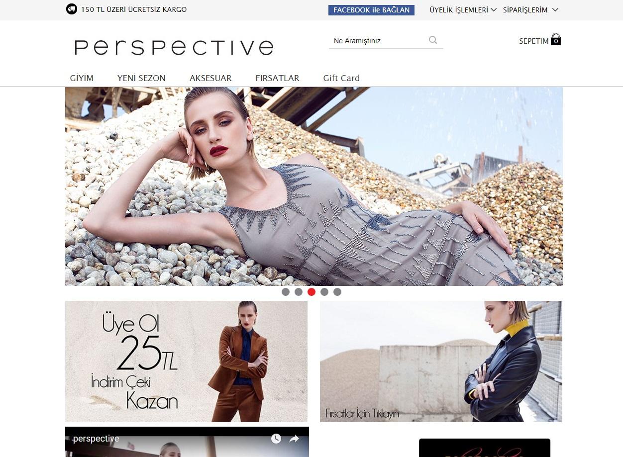 Одежда perspective каталог