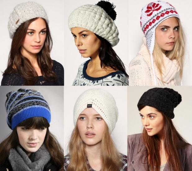Модные шапки зима 2013 фото